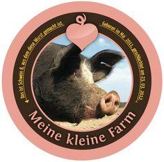 Schwein 8, das für Schwein 5 einsprang...