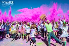Grand Junction Color Vibe 5K event!