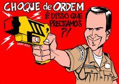 Prefeito Eduardo Paes | Latuff