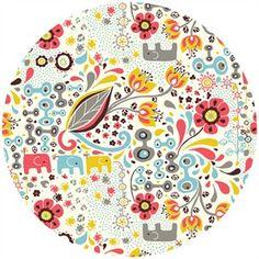 Rebekah Ginda for Birch Organic Fabrics, Frolic, KNIT, Frolic Girl
