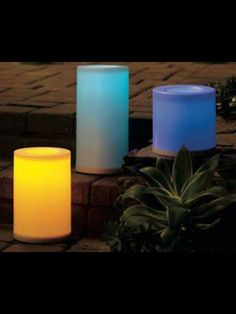 www.partylite.biz/lisacosta  Indoor/outdoor LED colour changing candles #partylite
