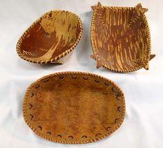 birch bark basket template - Google-søgning