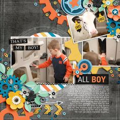 Layout using {A Boy Thing} Digital Scrapbook Kit by Blagovesta Gosheva available at Sweet Shoppe Designs http://www.sweetshoppedesigns.com//sweetshoppe/product.php?productid=33974&cat=&page=1 #blagovestagosheva #digiscrap #digitalscrapbooking #sweetshoppedesigns