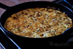 Easy to Make Bacon and Potato Frittata Recipe