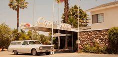 "Capri Hotel, 1180 E. Ojai Avenue, Ojai, CA. A renovated 1963 hotel ""within walking distance of historic downtown Ojai."""
