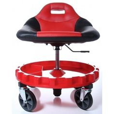 Details About Creeper Seat Mechanics Rolling Work Stool