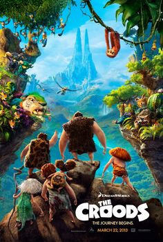 DreamWorks Animations next new venture is THE CROODS and man what a voice cast they've amassed for it: Emma Stone, Nicolas Cage, Catherine Keener and Cloris Leachman. Synopsis: The Croods is … Kid Movies, Family Movies, Great Movies, Watch Movies, Disney Movies, Awesome Movies, Comedy Movies, Movies Free, Cartoon Movies