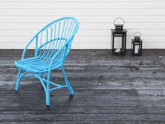Painted chair / Bambula #blue