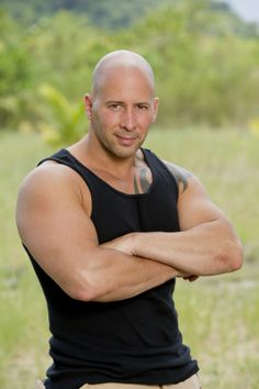 Police Officer Tony Vlachos from Jersey City, N.J. will be among the castaways competing on SURVIVOR: CAGAYAN my other brawn fav