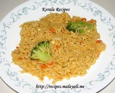 Instant Noodles with Vegetables and Egg