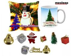 Selecting Christmas decoration items can be a hectic affair, yet there is an easy way to get the same, here is a simple recommendation for you.  We bring you this amazing Christmas combo that encompasses micro fibre cushion cover, microwave safe ceramic mug and a plethora of Christmas decoration items such as Balls, Gift Hangings, Santa, Drums, Christmas Tree and Dry Flower. T