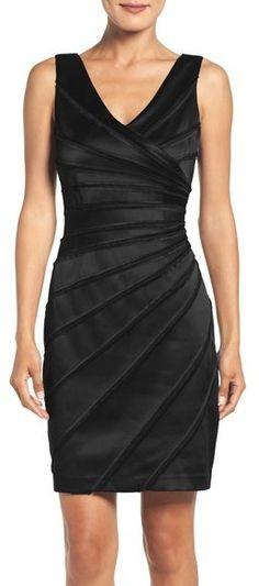 Eliza J Cutout Sequin Sheath Dress, black, schwarz, Black Dress ...