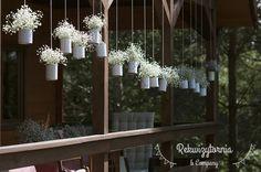 Wiszące girlandy. #rekwizytorniaandcompany #wesele #urodziny #dekoracje #babybreath #trójmiasto