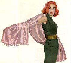 Maxwell Whitmore 1913-1988   American Fashion painter and Magazine illustrator