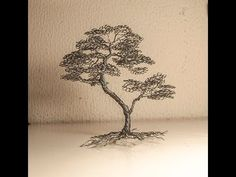 arbol bonsai de alambre - YouTube Copper Crafts, Wire Tutorials, Wire Tree Sculpture, Wire Trees, How To Make Rings, Wire Art, Tree Of Life, Wire Jewelry, Terrarium