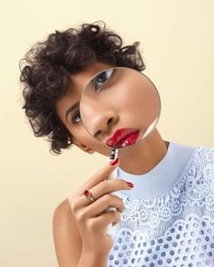 [#art #photography] #ImagesWe❤️ : #Repost @aleksandrakingo 👁🔍 Props @amy_friend 💡 Creative @gemfletcher 💎 Styling @natashakfreeman 💋 Beauty @julialaza 💆🏽 Hair @delphine_bonnet