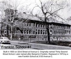 Benjamin Franklin Elementary School Council Bluffs, Iowa