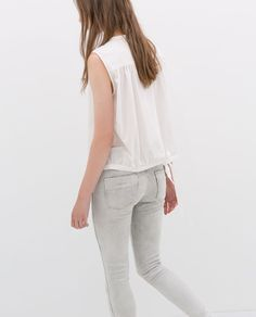 ZARA - WOMAN - 5-POCKET JEANS