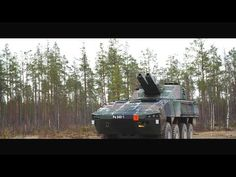 Patria - Amos & Nemo 120mm Advanced Mortar Systems [1080p] - YouTube