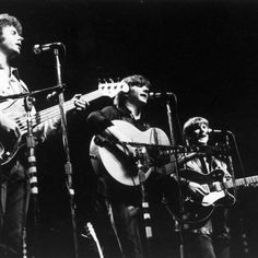 The Byrds (Chris Hillman, Gram Parsons, Roger McGuinn)