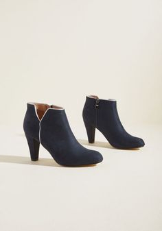 Chelsea Crew Outlined Allure Heeled Bootie in 39 by Chelsea Crew from ModCloth