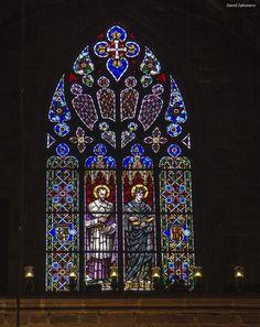285 / 366 - Vidriera de la catedral de Santa Eulalia de Barcelona