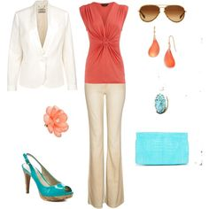 """Summer Work"" by saraacocks on Polyvore"
