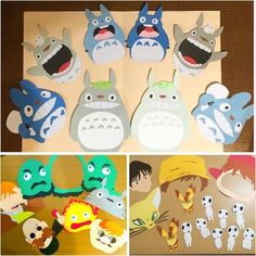 こちらの高クオリティなフォトプロップスは、ご新婦さまの手作りです。キャラの表情がイキイキしていますね! ハンドメイドの腕前とセンスの良さが光ります。 Birthday Cards, Birthday Parties, Diy And Crafts, Paper Crafts, Anime Crafts, Pen Pal Letters, Punch Art, Kawaii, Studio Ghibli