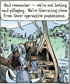 viking humor | Viking Humor - Around the Central Fireplace - The High Realm of ...