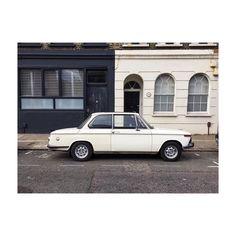 Welcome to Hackney. #vintage #bmw #carporn #blackandwhite