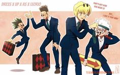 Dress up as Leorio by YAMsgarden