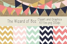 Digital Paper and Clipart - Rustic Colors - Free for Personal or Commercial Use - Wizard of Boz - TeachersPayTeachers.com