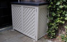 Contemporary Garden Bin & Recycling Stores - Essex UK, The Garden Trellis Company - beautiful bin storage