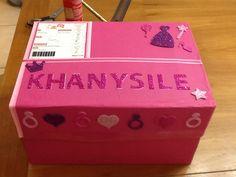 Santa Shoebox 2014 Creative Box, Some Ideas, Secret Santa, Shoe Box, Decorative Boxes, Wraps, Shoebox Ideas, Handmade Gifts, Projects