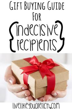 gift Gift Buying Guide for Indecisive Recipients