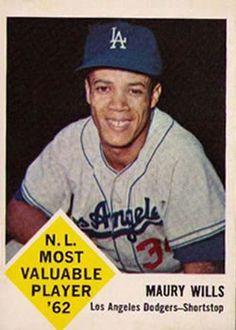 1960s Baseball - Player Profile - Maury Wills