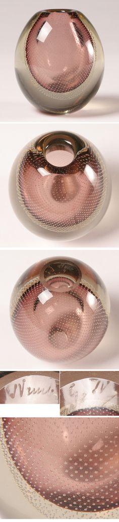 Gunnel Nyman Vase Centerpieces, Vases Decor, Nordic Design, Scandinavian Design, Kosta Boda, Art Of Glass, Through The Looking Glass, Glass Design, Finland