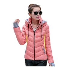 ef3482f70ba99 2017 Winter Jacket Women Parka Thick Winter Outerwear Plus Size Down Coat  Short Slim Design Cotton-padded Jackets and Coats
