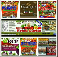 RCP Food Products ➡sticker/label