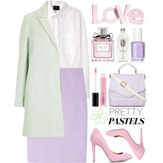 How To Wear Love Pretty Pastels Outfit Idea 2017 - Fashion Trends Ready To Wear For Plus Size, Curvy Women Over 20, 30, 40, 50