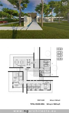 Modern villa Wings designed by NG architects www.ngarchitects.eu