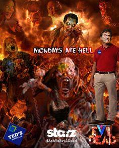 Fan made poster for Ash vs Evil Dead