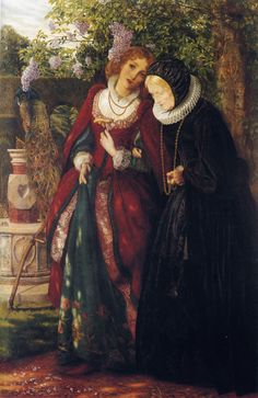Silver and Gold by Arthur Hughes, 1863.