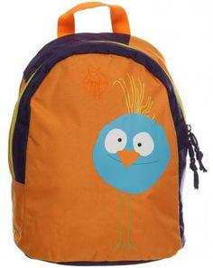 Kinderrucksack WILDLIFE BIRDIE in orange