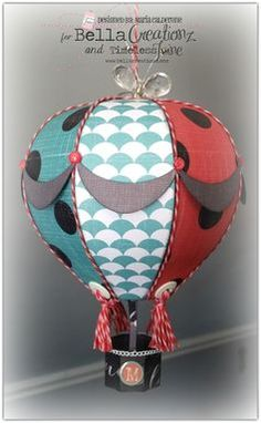 hot air balloon craft project - Google Search