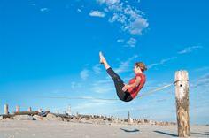 Slacklining Yoga