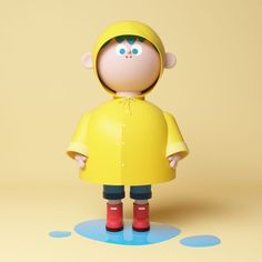 Daily Character design on Behance Simple Character, 3d Model Character, Kid Character, Character Concept, Character Illustration, Digital Illustration, 3d Cinema, Modelos 3d, Mascot Design