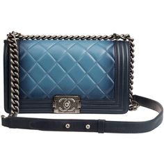 Designer Clothes, Shoes & Bags for Women Chanel Purse, Chanel Handbags, Clutch Purse, Chanel Boy Bag, Chanel Bags, Coco Chanel, Blue Purse, Blue Bags, Blue Handbags