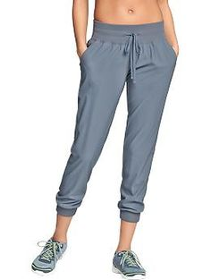 Womens Old Navy Active Cropped Track Pants
