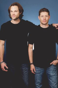 We couldn't decide between the two, so our #ManCrushMonday goes out to Jared Padalecki & Jensen Ackles!!